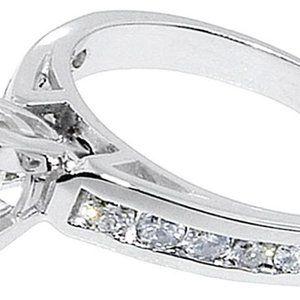 Jewelry - PRINCESS CUT DIAMOND RING & BAND SET CUSTOMIZED
